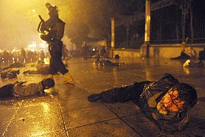 """Они хотели не свободы слова, а насилия и жертв"""