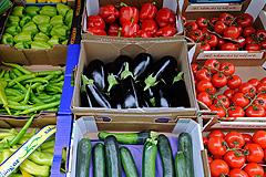 Овощи на низком старте