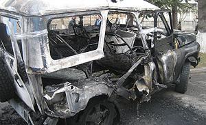 Взрыв в Каспийске