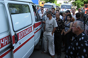 Аварии на украинских шахтах