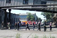 Украина: поиски горняков завершены