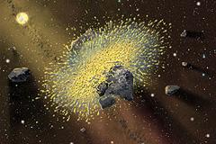 Астериоды остановят ядерными взрывами