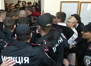 Тимошенко арестовали