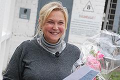 Захарова вышла на свободу