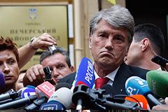 Тимошенко не стала судить Ющенко