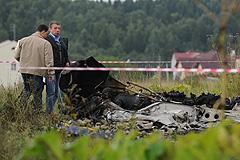 Под Петербургом разбился самолет