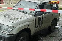 Взрыв в нигерийском здании ООН