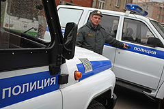 Взрыв у полицейского участка