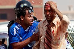Суд над Мубараком породил беспорядки