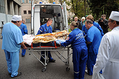 Выживших в катастрофе привезли в Москву
