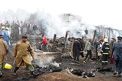 Взрыв в столице Кении: десятки погибших