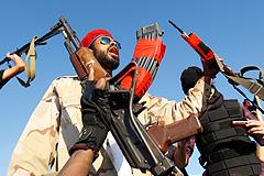 Штурм последних цитаделей Каддафи