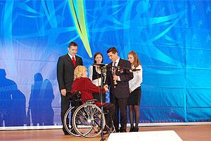 Вручена премия Мухиной