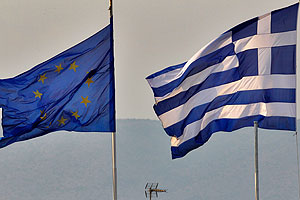 Греция борется за евро