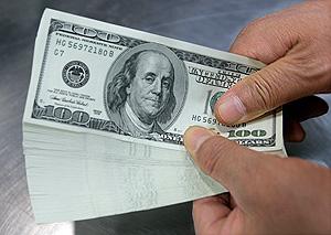 Взлет доллара, пике рубля