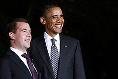 Встреча Медведева и Обамы