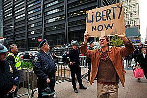 Уолл-Стрит очистили от оккупантов
