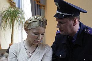 Тимошенко не стала сдавать кровь