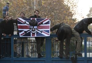 Студенты разгромили дипломатов