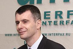 Прохоров готов стать президентом