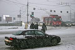 Снег против Москвы. Серия …