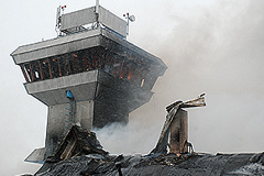 В Красноярске сгорел аэропорт