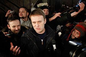 Навальный и Яшин вышли на свободу