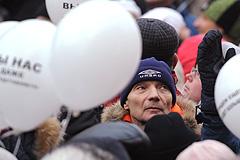 Реакция на московский митинг