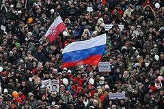 Митинг на Сахарова без происшествий