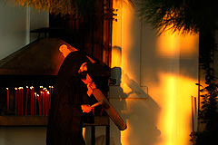 Архимандрит остался в монастыре