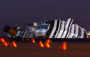 Шлюпки на Costa Concordia не продавались