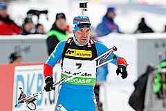 Биатлон: Гараничев выиграл спринт