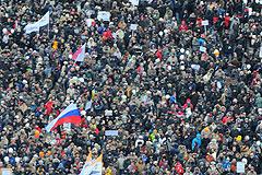Один день и четыре митинга в Москве