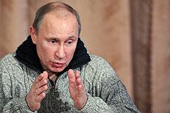 Путин о Поклонной