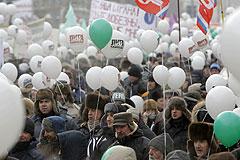 От шествия к митингу. Хроника