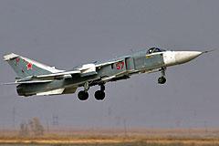 Су-24 разбился под Курганом