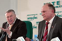 Жириновский и Зюганов хотят равенства
