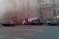 Пожар во дворце