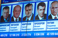 Путин поздравил соперников