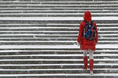Снег и метели возвращаются в Москву