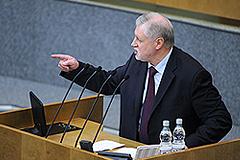 Миронов Медведева не поддержит