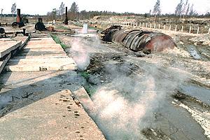 Токсичные отходы спровоцировали ЧС
