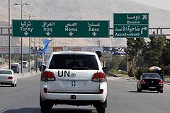 Наблюдатели в Сирии