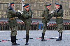 Москва готовится к параду