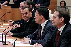 Медведев консультируется