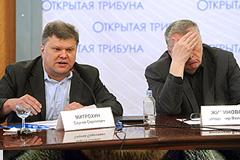 """""""Открытое обсуждение"""" покинули демонстративно"""