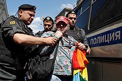 Акции и задержания в Москве