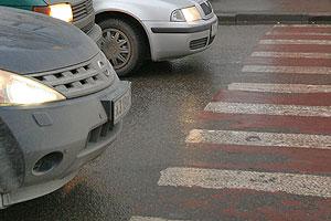 Пьяный полицейский сбил пешеходов
