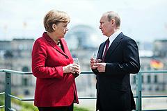 Путин и Меркель обсудили Сирию