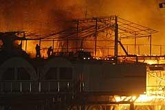 Пожар в ночном клубе в Сочи